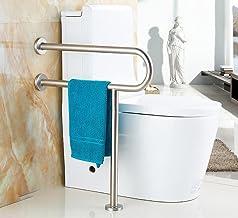 Handicap Grab Bars Bathroom Support Rails, U-shaped Floor Grab Bar, Wall-mounted Support Rail, Elderly Disabled Toilet Sta...