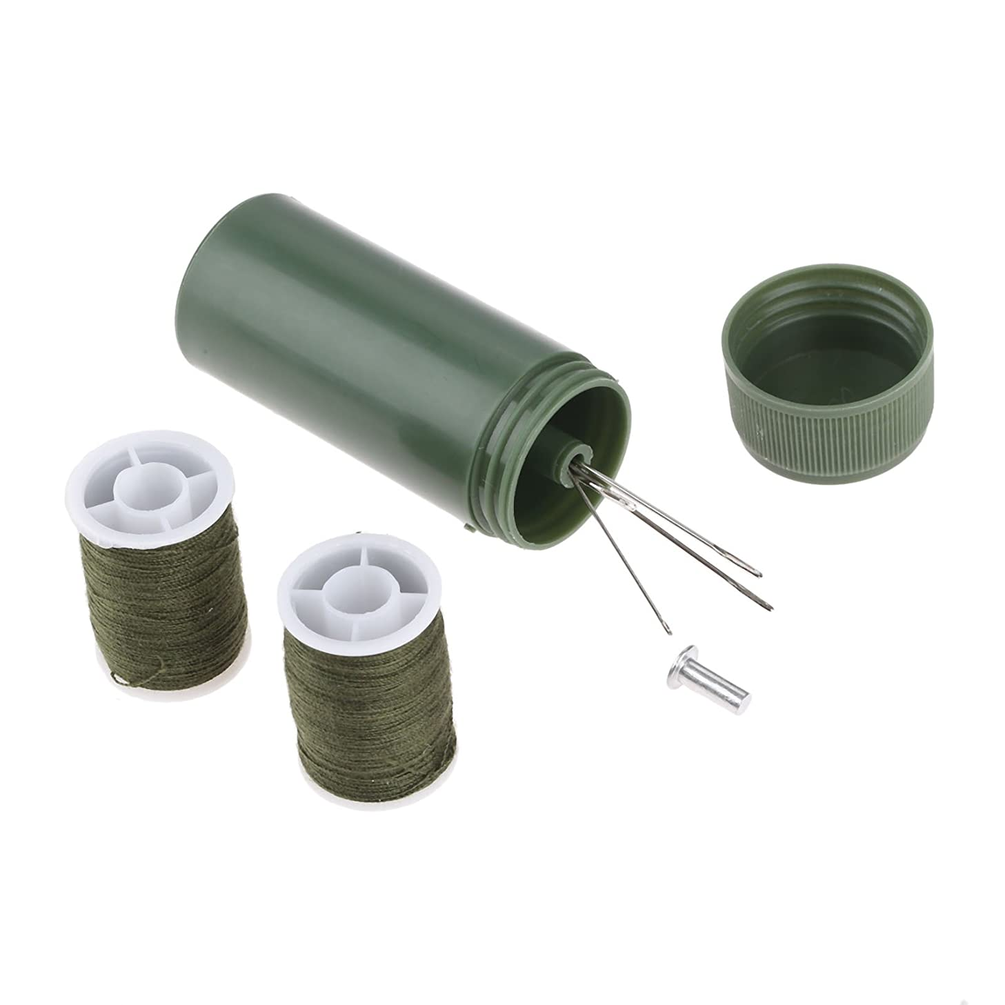 Mtsooning Portable Mini Travel Household Sewing Tube Set Sewing Kit Home Tools