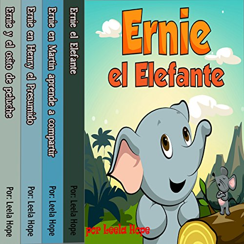 Ernie la serie: Ernie el Elefante [The Ernie Series: Ernie the Elephant] audiobook cover art