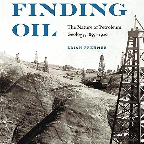 Finding Oil audiobook cover art