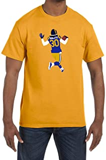 Tobin Clothing Gold Los Angeles Gurley Running T-Shirt