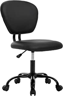Office Chair Desk Chair Computer Chair Ergonomic Task Rolling Swivel Stool Mid Back Executive Chair for Home&Office, Black