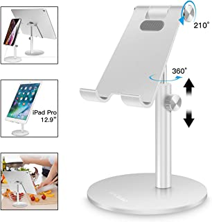 AICase Soporte Tablet/Móvil, Universal Multiángulo Soporte Ajustable para iPad Pro 10.5/9.7/12.9, iPad Mini 2 3 4, iPad Air, iPhone, Samsung Tab, Otras Smartphones e Tablets [4-13