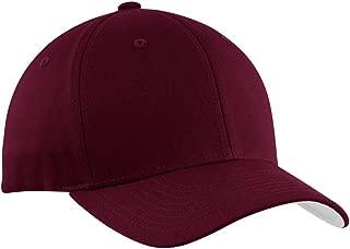 maroon color hat