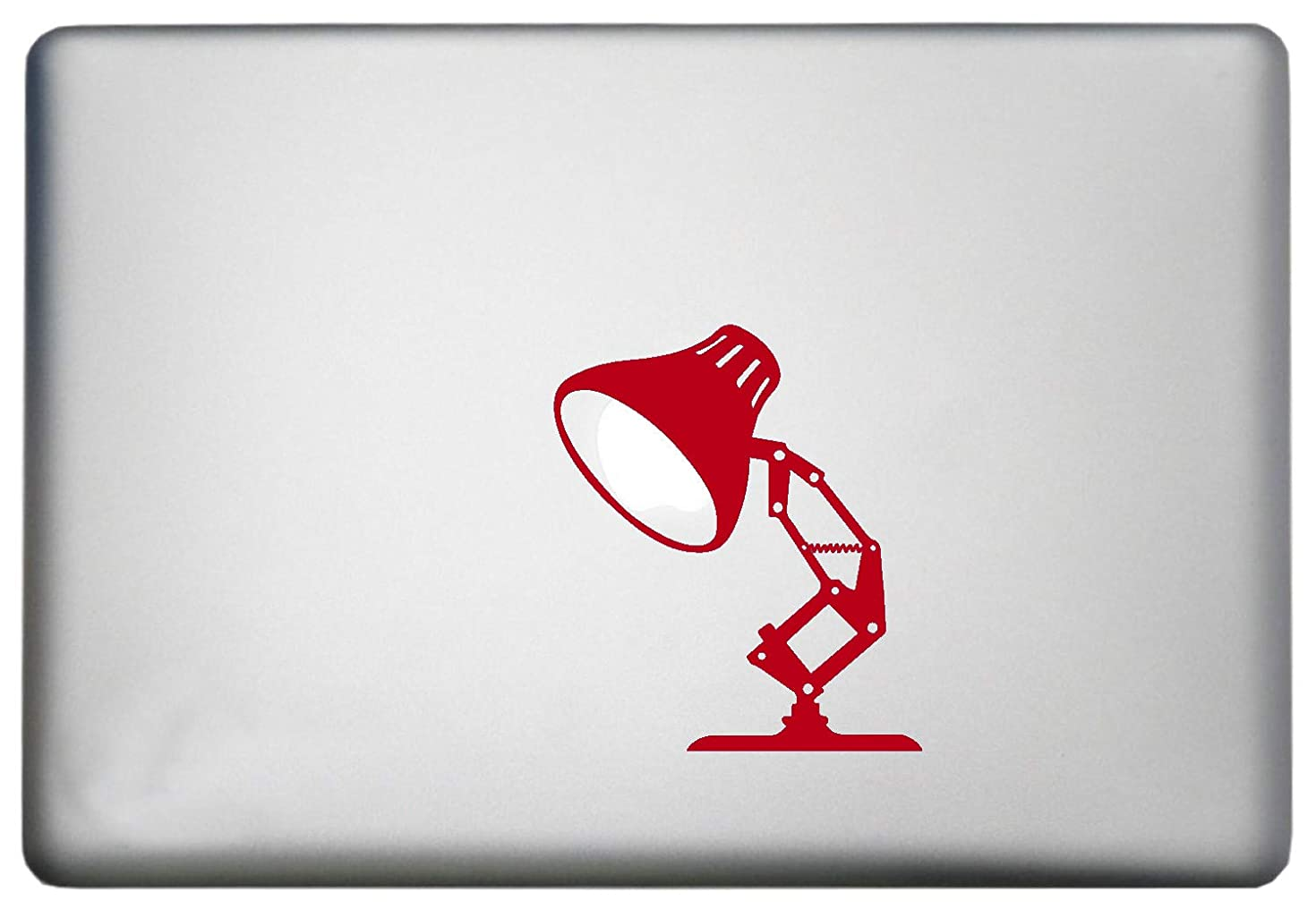 Disney Pixar Lamp MacBook Pro Decal is a Disney Lamp Decal. Available in 11, 12, 13 and 15 inch Laptop Sizes. Looks Great with Your Pixar Lamp Theme RED