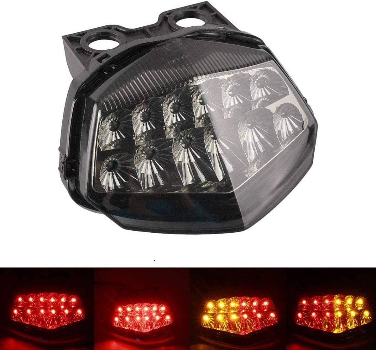 MZS Tail Light Max 40% OFF Turn Signal Compatible LED wit Excellent Blinker Integrated