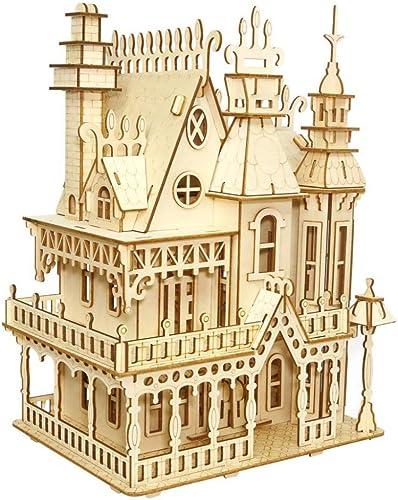 SXPC 3D Holzpuzzle Modell DIY dreidimensionale Fantasie Landhaus Kinder p gogische Spielzeug Geschenk