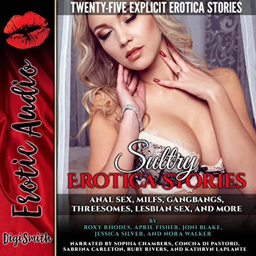 Sultry Erotica Stories audiobook cover art