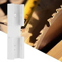 Connecteur de fente 80mm Bois T-rail Rail T-Slot Mobilier En Aluminium Mitre Jig Durable Outil Coulisse Pratique M/écanisme de Fixation Pour Table de uteur