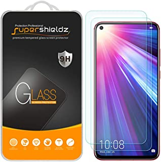 (2 Pack) Supershieldz for Huawei Nova 4 Tempered Glass Screen Protector, Anti Scratch, Bubble Free
