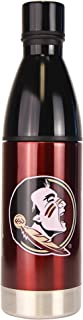 NCAA Stainless Steel Sports Water Bottle (25 Ounce) 25-Ounce Red