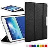 Forefront Cases Coque pour Samsung Galaxy Tab 3 Lite 7.0 T110 Étui Coque Stand Case Cover Housse -...