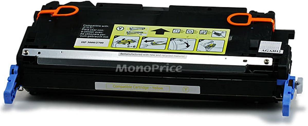 Monoprice 109112 MPI Remanufactured HP Q7562AY Laser/Toner - Yellow