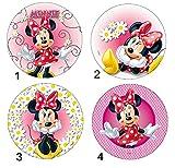 Disque Azyme MOD Minnie Disney Décoration Gâteau Enfant - 21cm - 151-4