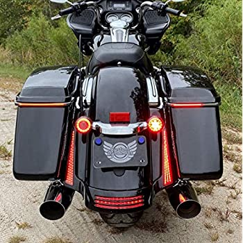 Custom Dynamics Smoke Plugz Antenna Hole Fillers for 2007-2015 Harley Touring