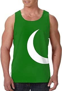 Pakistan Flag Men's Tank Top T-Shirt Cool Sleeveless Vest