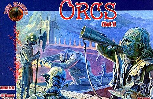Set d'Orcs : 45 figurines / 9 poses