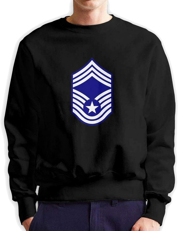Usaf Chief Master Logo Man'S Classic Vintage Fleece Sweatshirt Super Soft