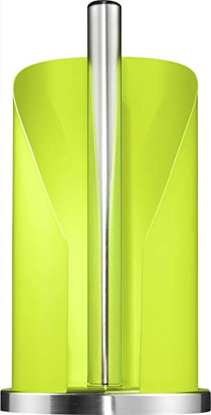Wesco German Designed Steel Paper Towel And Toilet Paper Holder Lime Green