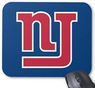 Alfombrilla de ratón de Goma Antideslizante Rectangular para Ordenadores portátiles (20 x 24 cm) con Logotipo de NJ Giants