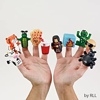 Lowest Price 10 Plague Passover Finger Puppets As Seen on the Colbert Report and the Wall Street Journal!