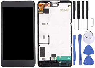 MDYHMC TCN AYSMG LCD Display + Touch Panel con Marco for Nokia Lumia 630/635 (Negro)