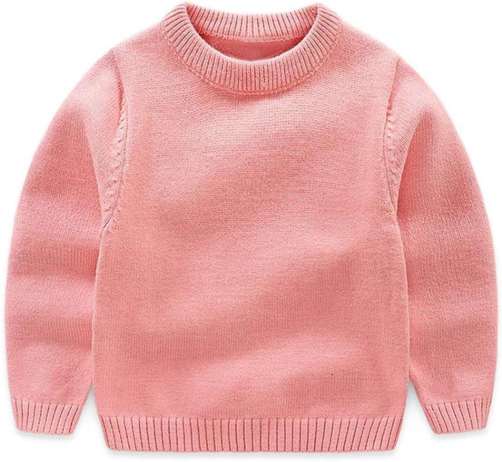 Mud Kingdom Little Boy Pullover Sweater Crew Neck Pink Size 5