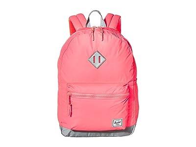 Herschel Supply Co. Kids Heritage Youth XL Backpack (Little Kids/Big Kids) (Pink/Silver Reflective) Backpack Bags