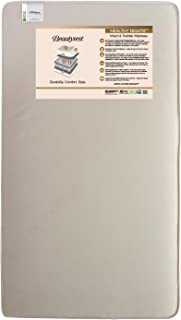 Beautyrest Beginnings Naturally Healthy Nights Innerspring Crib and Toddler Mattress   Waterproof   GREENGUARD Gold Certified (Natural/Non-Toxic)