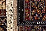 Lifetex.eu Teppich Keshan ca. 120 x 175 cm Beige handgeknüpft Schurwolle Klassisch hochwertiger Teppich - 3
