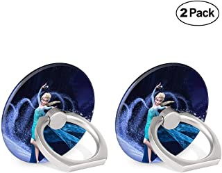 DISNEY COLLECTION Cell Phone Ring Holder Finger Grip Cute Frozen Wallpaper Kickstand 360 Degree Rotation Protective