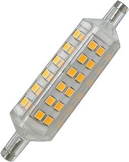 EOFITI 2x R7S Led 78mm 8W 720LM Pari a Alogena 70W 2700K Bianco Caldo Angolo di Fascio di 360/° RA 83 NON Dimmerabile Lampadine 86-265V AC Interni Esterni Lampada Ceramica