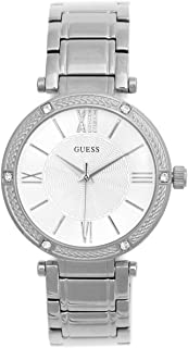GUESS Factory Womens Silver-Tone Analog Watch, ...