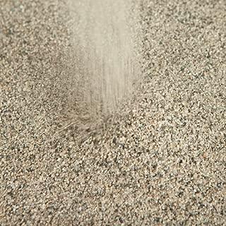 【芝生用 目砂 乾燥砂】 天竜川中流域産 洗い砂 20kg (13.3L)【放射線量報告書付き】