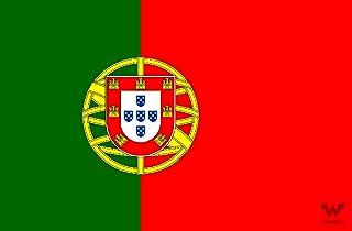 WHATABUS Portugal Flagge Aufkleber   Länderflagge als Sticker 8,5 x 5,5 cm