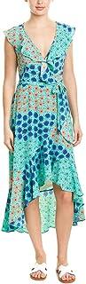 Donna Morgan womens MAXI DRESS WITH FLOUCE Casual Dress