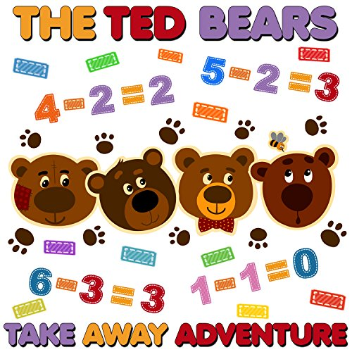 The Ted Bears Take Away Adventure cover art