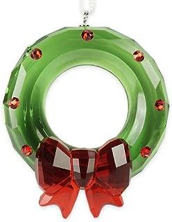 SWAROVSKI Christmas Wreath Ornament