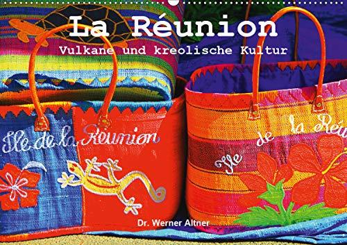 La Réunion - Vulkane und kreolische Kultur (Wandkalender 2021 DIN A2 quer)
