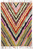 Tapis Boucherouite coloré Taille 140 x 200 cm
