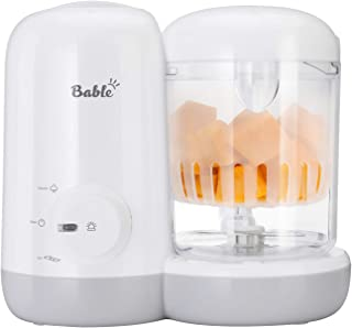 Bable Baby Food Maker Steamer and Blender- 2-in-1, Baby Food Processor Ease to Steam Chop Vegetable Nuts Meat to Puree Sou...