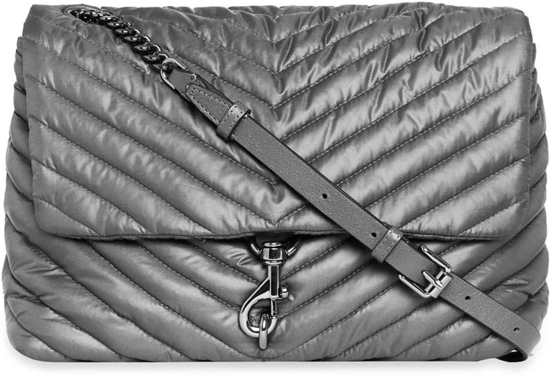 Sale Special Finally resale start Price Rebecca Minkoff Women's Edie Shoulder Jumbo Nylon
