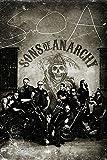 Close Up Pster Sons of Anarchy/Hijos de la Anarqua Vintage/Antao (61cm x 91,5cm) + 2 Marcos Transparentes con suspencin