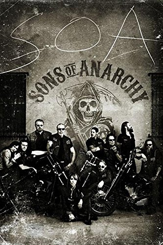 Close Up Póster Sons of Anarchy/Hijos de la Anarquía...