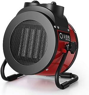 Radiador eléctrico MAHZONG Calentador de Ventilador Industrial de 2KW con termostato Ajustable para Taller de Invernadero Invernadero