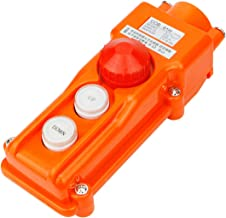 Electrical Buddy ainproof Hoist Crane Pushbutton Switch Up Down w Emergency Stop 250V 5A 500V 2A