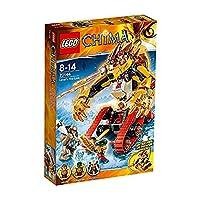 レゴ (LEGO) チーマ ラバルのファイヤーライオン 70144
