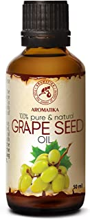 Aceite de Semillas de Uva 50ml - Refinado - Vitis Vinifera - Italia - 100% Puro y Natural - Cuidado Intensivo para la Piel...