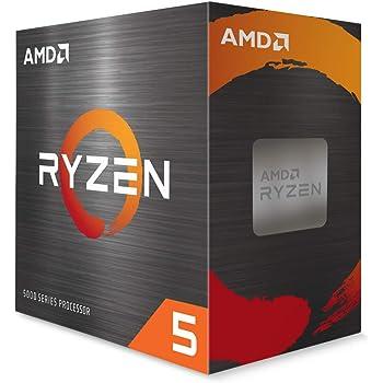 AMD Ryzen 5 5600X 6-core, 12-Thread Unlocked Desktop Processor with Wraith Stealth Cooler
