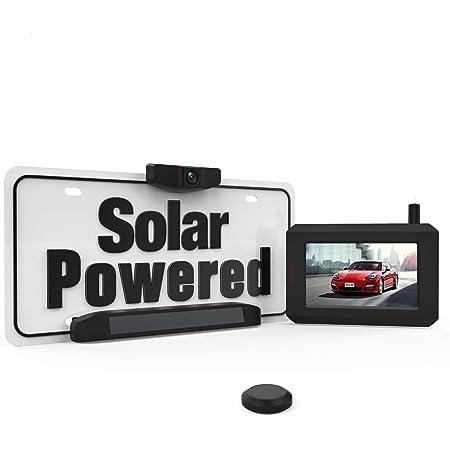 Boscam Sungo Solar Kabellos Rückfahrkamera Set Diy Installation Ohne Verkabelung Drahtlose Digitale Rückfahrkamera Mit Stabilem Signal Funk Rückfahrkamera Mit Ip68 Wasserdichtem Standard Auto